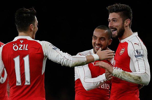 Ozil mostrou contra o City, que é o Cara que o Arsenal precisava