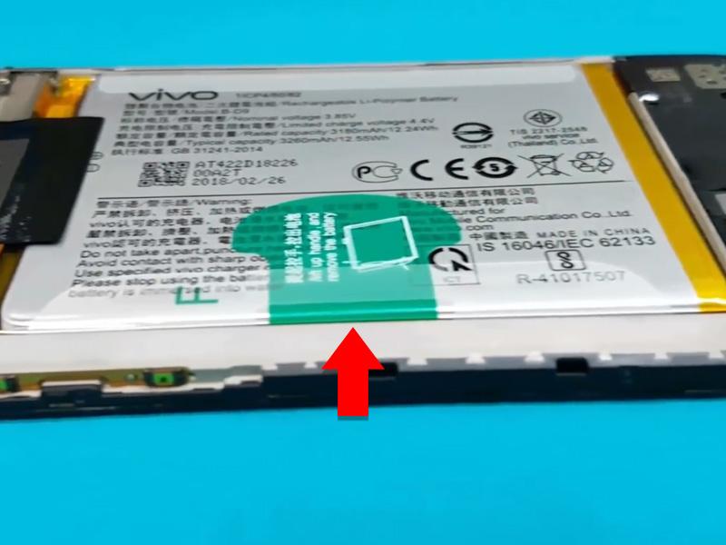 Cara Membuka Casing Belakang Dan Mengganti Baterai Vivo V9 Andro01