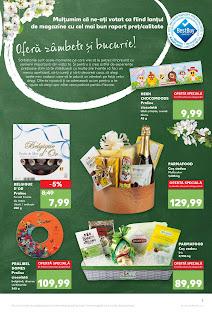 CATALOG KAUFLAND 3 - 9 aprilie 2019 oferte cosuri cadou de Paste