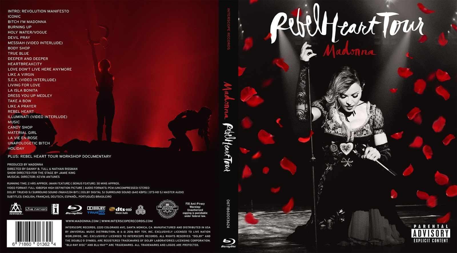Confessions Tour Blu Ray