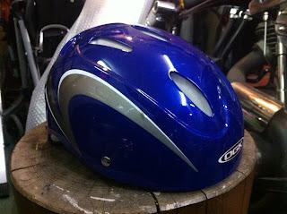 959975444 - 自転車用ヘルメット 1 バラし&ベースカラー