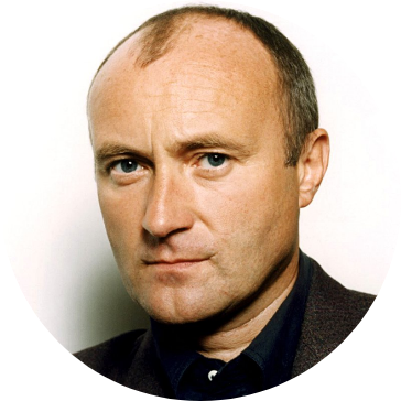 Phil Collins v roce 1996