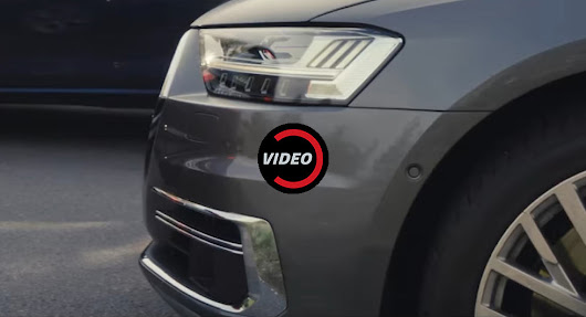 2018 Audi A8 Teaser Shows High-Tech Headlights, New Infotainment System
