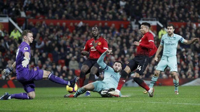 Berikut Jadwal Siaran Langsung Pertandingan Antara Arsenal Vs Manchester United 2019