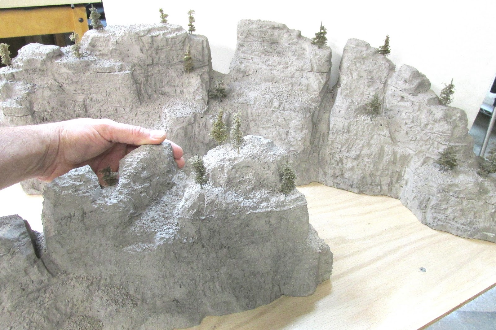 The art of todd gamble sculpting mountains from foam