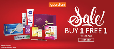 Guardian Malaysia Online Store Buy 1 Free 1 Promo