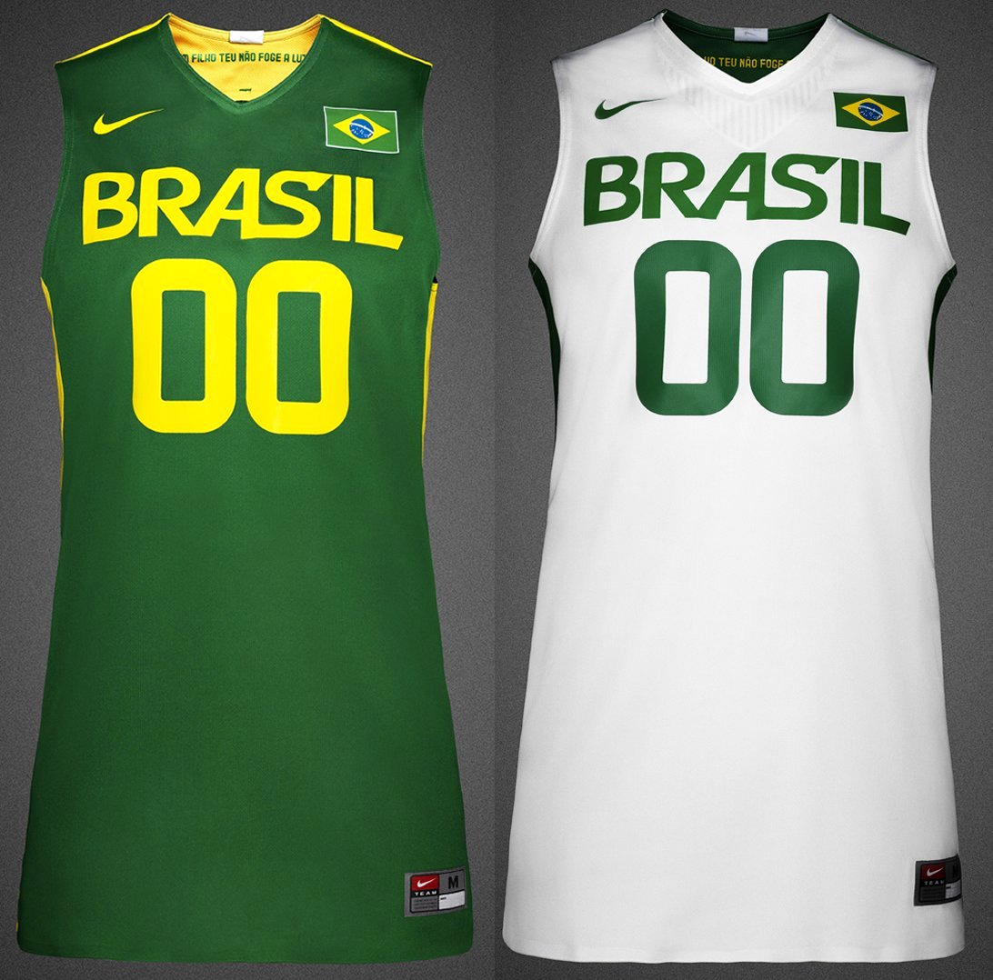39cdd50396 Basquete brasileiro veste Nike na Olimpíada de Londres 2012 - Show ...