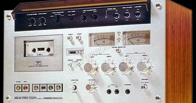 stereonomono - Hi Fi Compendium: Akai GXC-570D