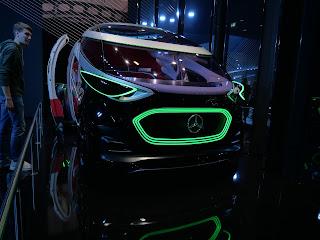 futuristic Mercedes