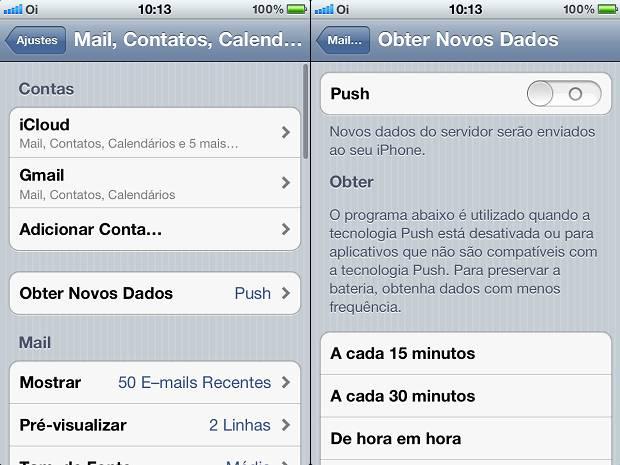 Desative a verificação automática de e-mails do iPhone e ganhe desempenho