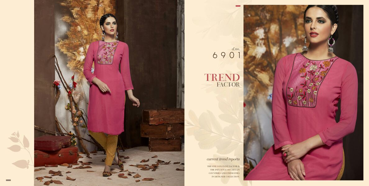 Indiana – Latest New Collection Stylish And Designer Georgette Kurti
