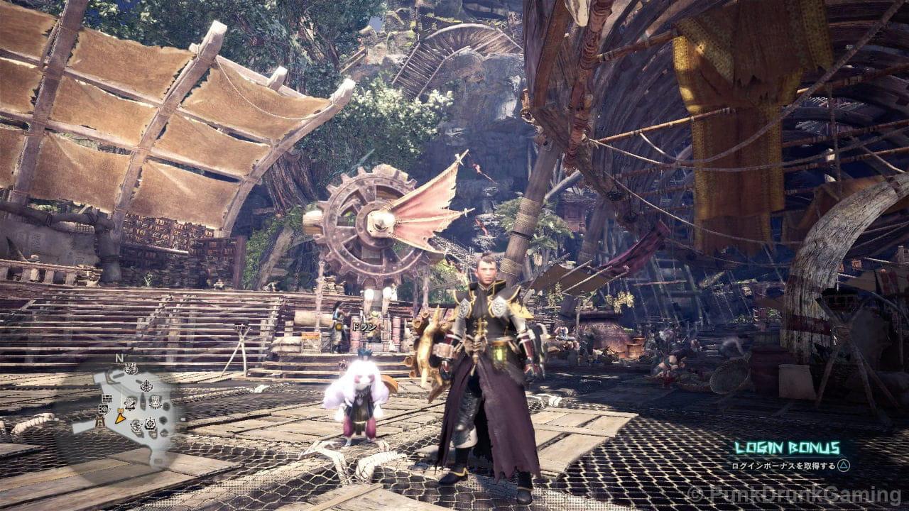 モンスターハンター:ワールド - PS4ゲーム画面のキャプチャ画像