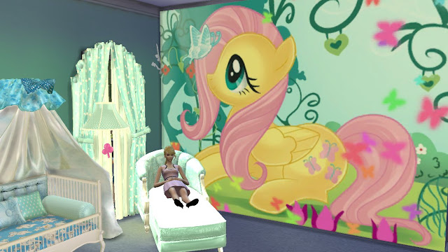 Sims 4 My Little Pony Wall Sticker,decal And Mural Download Part 58