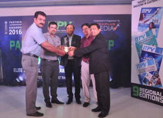 Savera Bags the Most Promising 'Sub-Distributor East' Award 2016