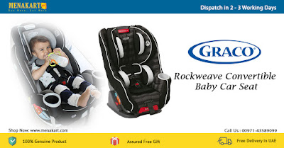 Graco Rockweave Convertible Baby Car Seat