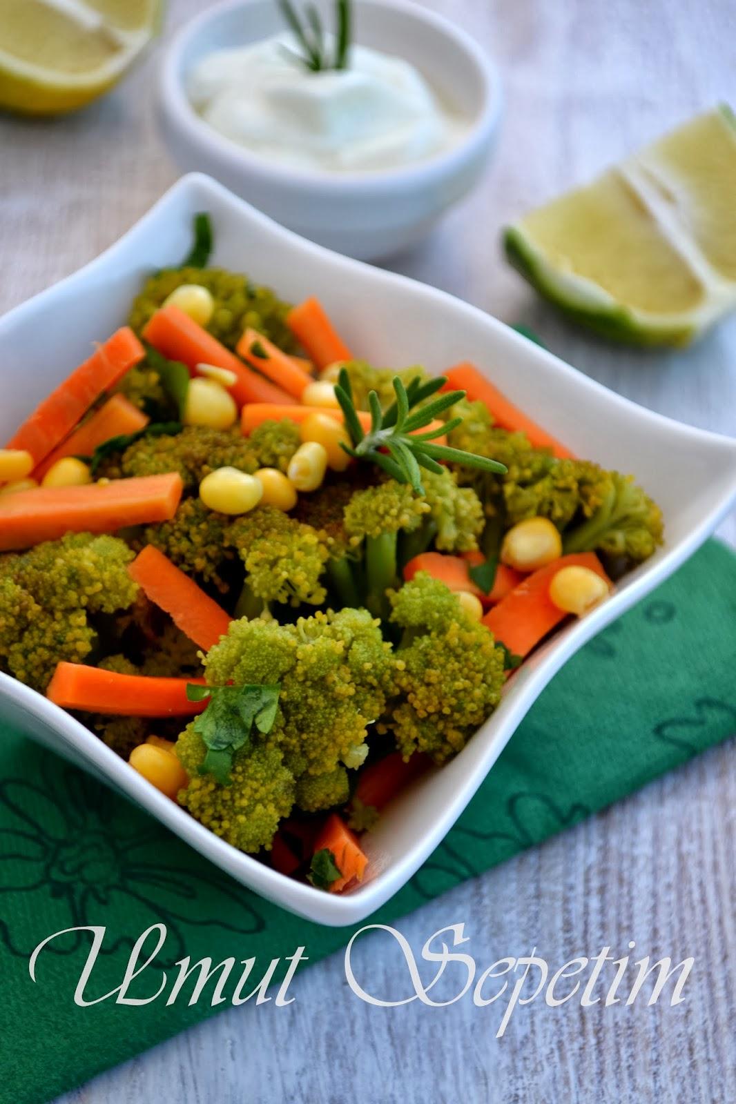 Sarımsaklı Brokoli Salatası Videosu