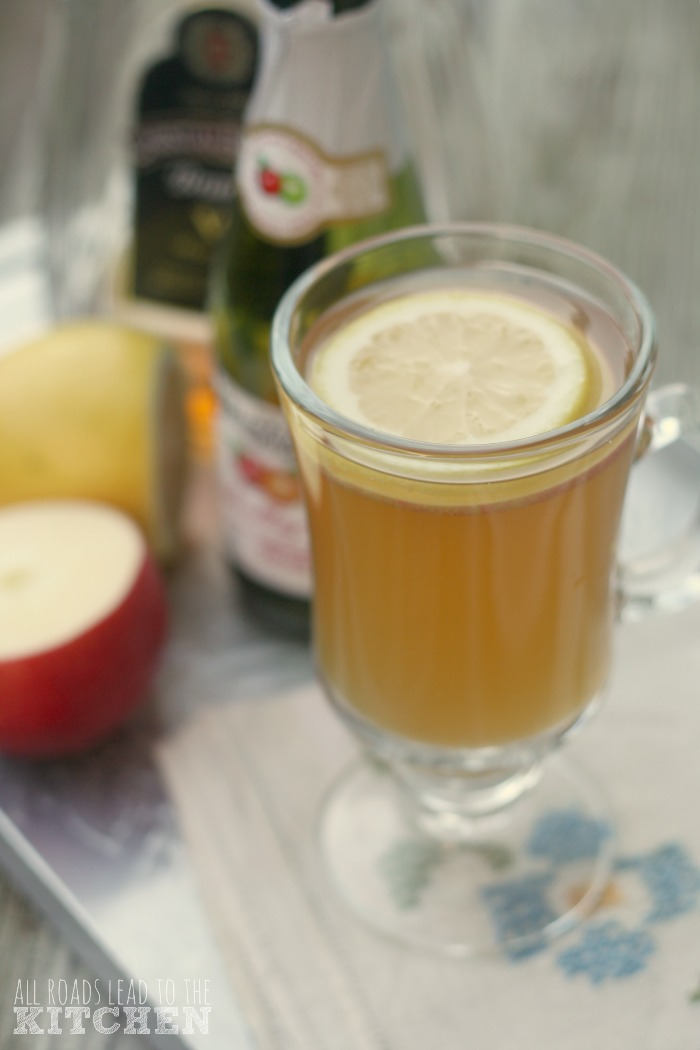 Apple Brandy Punch