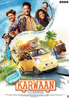 Karwaan (2018) 1CD Pre-DvDRip x264 AAC Hindi 720p Download   Watch Online   GDrive