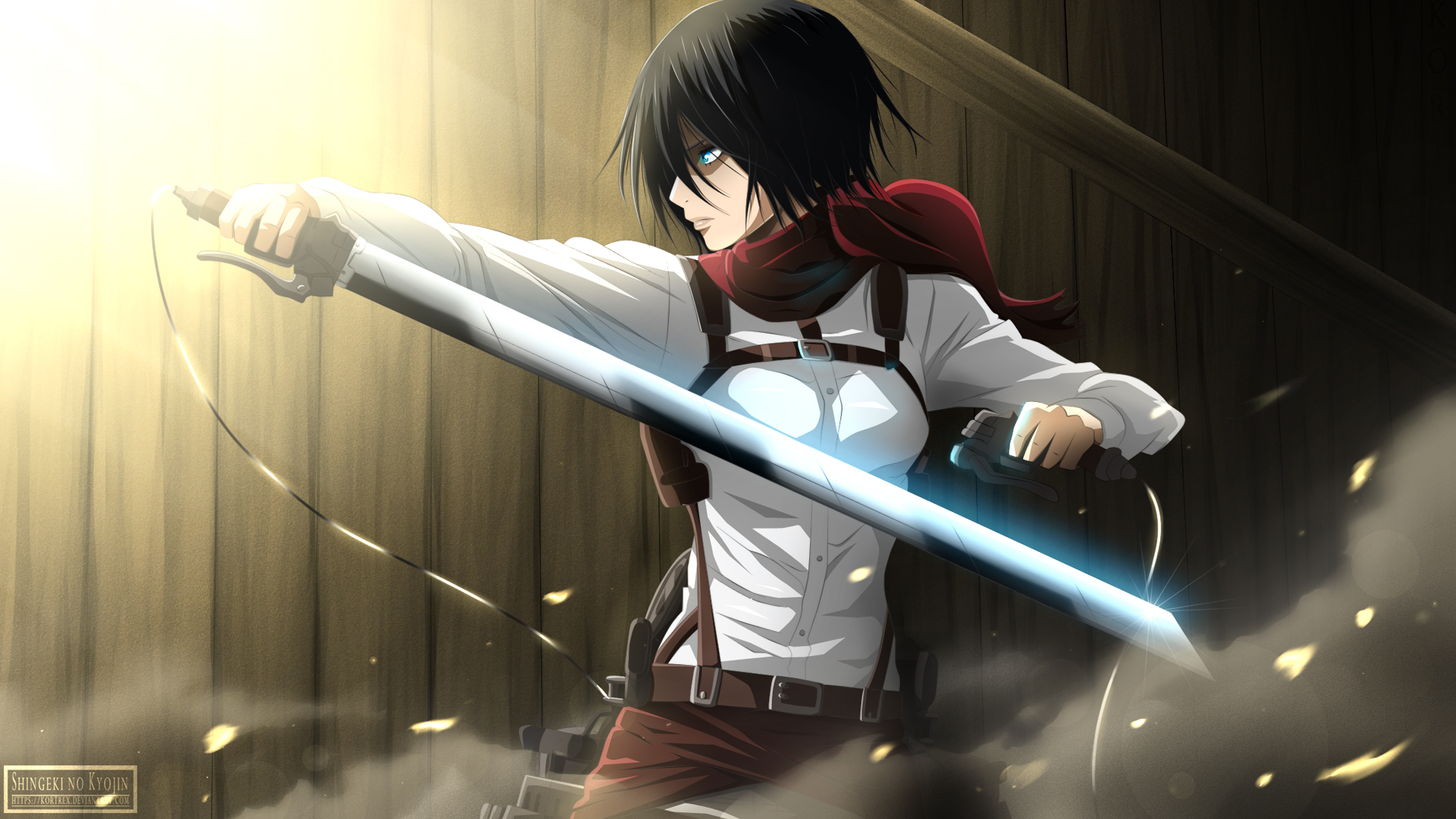 wallpapers mikasa ackerman hd - photo #1