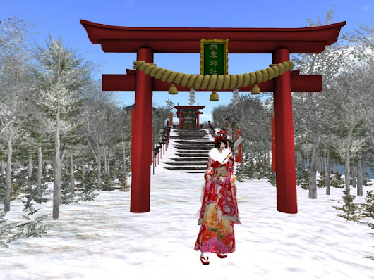 1st visiting shrines on new year's day