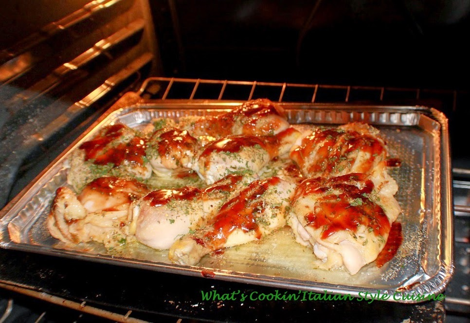 Baked Herb Asian Chicken