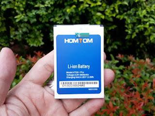 Baterai Homtom HT20 HT20 Pro Original 3500mAh