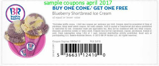 Baskin Robbins coupons for april 2017