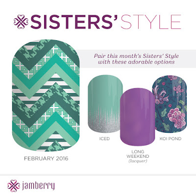jamberry, pattern envy, sister's style exclusive, nail wraps, nail art, #patternenvyjn