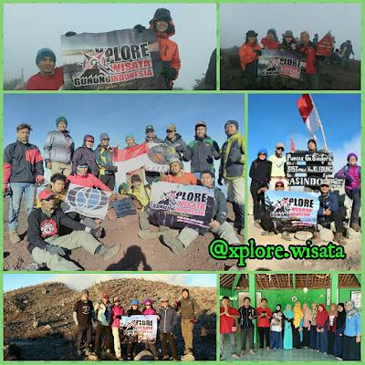 Pendakian Gunung Slamet 3.482 mdpl