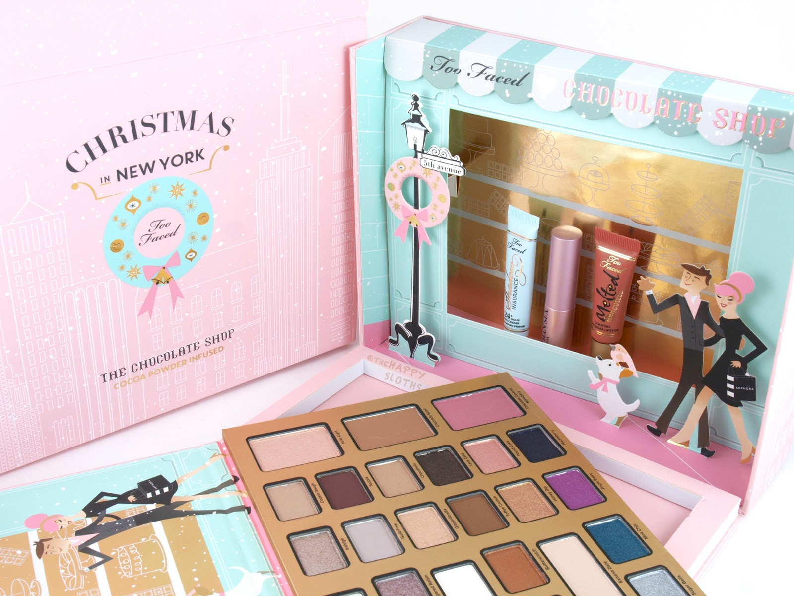 Too Faced Holiday 2016 The Chocolate Shop: Review and Swatches