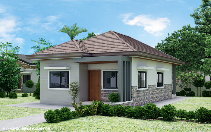 10 small home blueprints and floor plans for your budget for Small three bedroom house