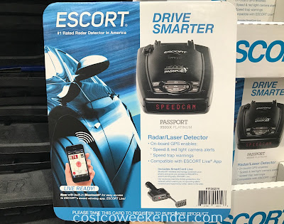 Avoid getting a speeding ticket with the Escort Passport 9500IX Platinum Radar/Laser Detector