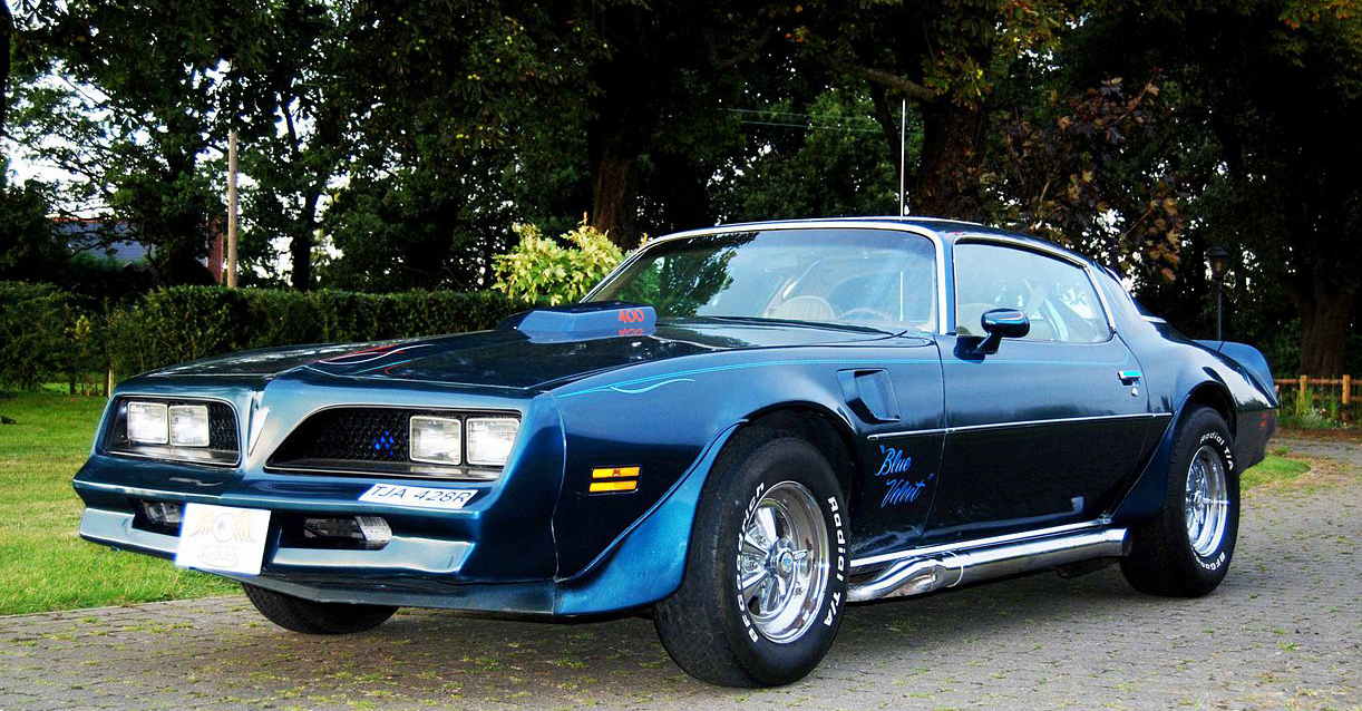 e6d0ccea Ever heard of Blue Velvet? The Firebird Von Dutch striped? I never have  before, and this seems to be all the internet has on the car