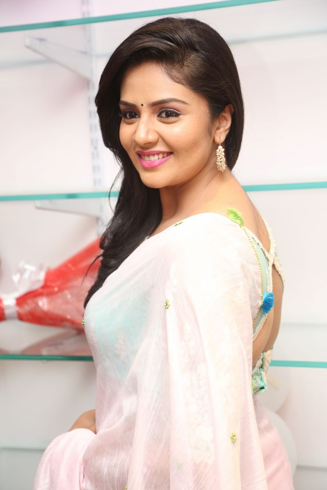 Srimukhi at Manvis launch event-HQ-Photo-11