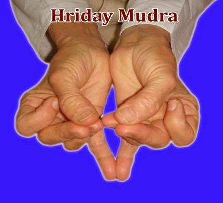 HRIDAY MUDRA