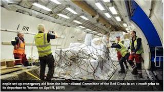 humanitarian shipments to Yemen