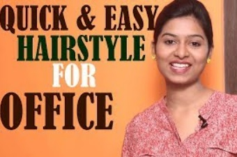 Quick And Easy Hair Style For Office | New Look | Girls | Fashions | Trends | Latest Hairstyles 2017