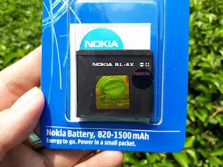 Baterai Nokia BL-6X Nokia 8800 Sirocco