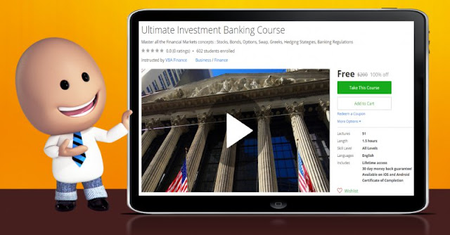 [100% Off] Ultimate Investment Banking Course|Worth 200$