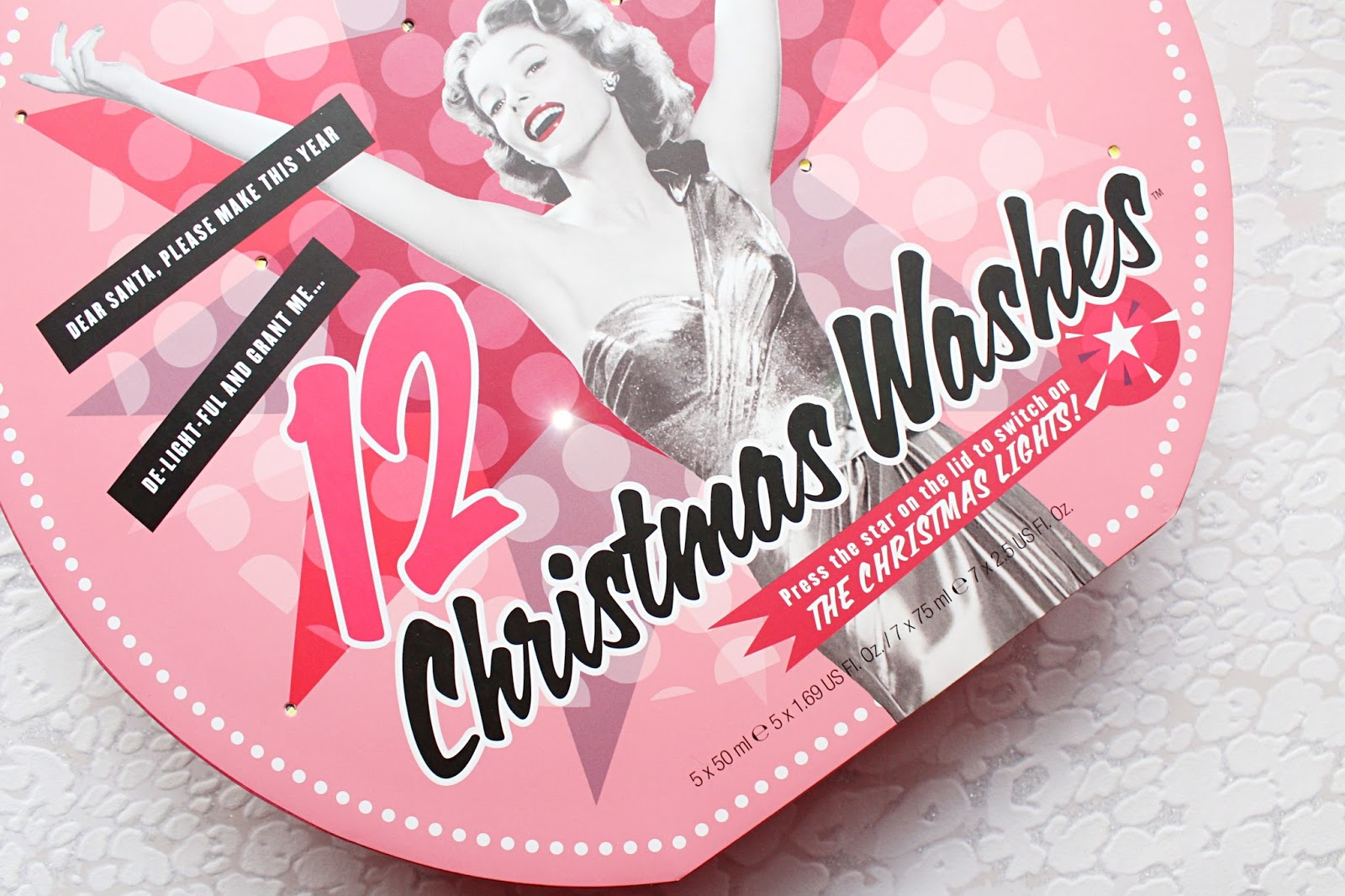 Soap & Glory 12 Christmas Washes