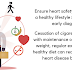 LIFESTYLE IS FUNDAMENTAL FOR HEART HEALTH