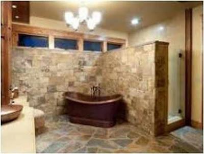 Bathroom Ideas With Stone Tile