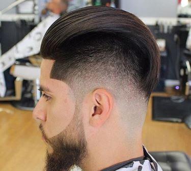 Model Rambut Curved yang biasa