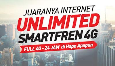 Daftar Harga Paket Smartfren 4G Unlimited Terbaru dan Cara Daftar
