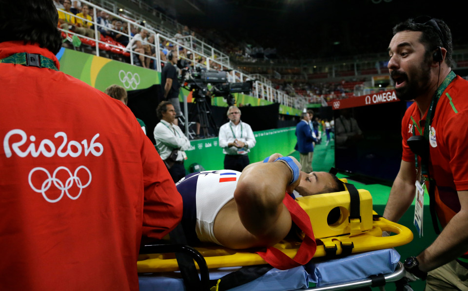 DOWNLOAD: OMG! French Olympic gymnast suffers horrific leg