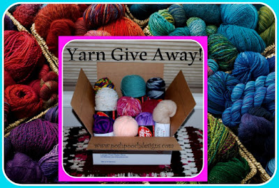 Yarn Give Away! FREE Yarn! Posh Pooch Designs is having a Yarn Give Away!