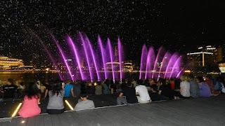 Marina Bay Sands Laser Music Water