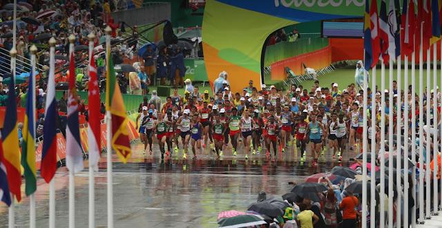 Maratón Masculina JJOO Rio 2016
