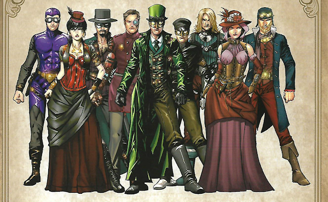 steampunk-comic-legenderry-personajes