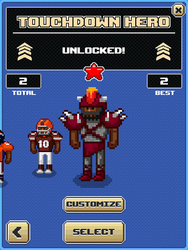 iOS Hack] Touchdown Hero: New Season Unlock All 1 0 2   apk mod games